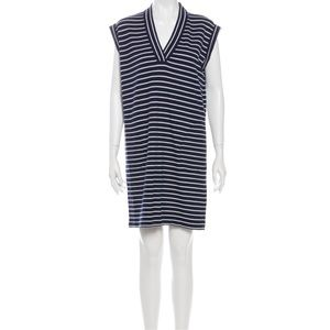 ATM ANTHONY THOMAS MELILLO STRIPED MINI DRESS SZ S
